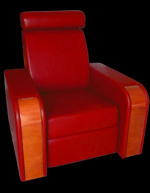 Fauteuils class premium ccomocin fauteuil de cin ma accessoires d co hom - Fauteuil rouge cinema ...